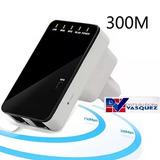 Potente Repetidor Wifi 300mbps Ampliador De Señal