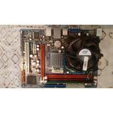Kit Placa Mãe 775 Ddr3 Processador Dual Core E5700 4gb Memo