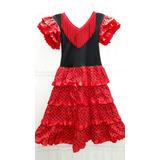 Vestido Español Flamenco Niña T 10
