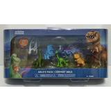 Set De Figuras Un Gran Dinosaurio X 6, Originales! Disney