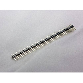 15pcs 40 Pines 2,54 Mm Sola Fila (l 11mm) Conector Macho Par