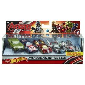 Avengers 2 – Paquete De Cinco Autos Personificados Mat