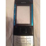 Carcasa Nokia X3-00 Original Negra/azul
