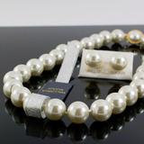 Collar Aretes Mujer Perlas Grandes Mallorca Chapa Oro Joyas