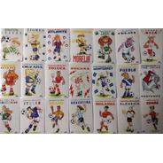 21 Postales Futbolisticas Futbol Mexicano Y Selecciones 1995