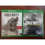 Par De Juego De Call Of Duty Para Xbox One