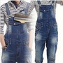 Macacão Jardineira Masculina Jeans Denin Promoção 44-46 Novo