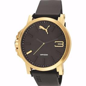 Puma Ultrasize Gold 50mm Diametro Dorado C Relojes Skull Mad
