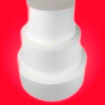 Base Telgopor Torta Flasa De 20cm Diamtro X 15 De Alto