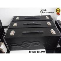 Estojo Case Para Sax Tenor Luxo C/compartimento- Promoção!!!