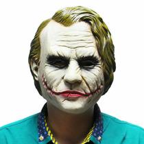 Mascara Joker Coringa Vilão Batman Cosplay Latex