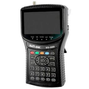 Localizador De Satelite Satlink Ws-6960 Dvb-s2 Hd Digital