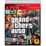 Grand Theft Auto Iv 4 Gta Iv 4- Mídia Física / Ps3