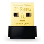 Adaptador Wifi Usb Tp-link Archer T2u Nano Ac600 Dual Band