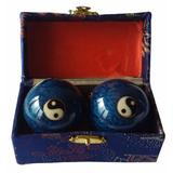 Bolas Esferas Chinas Para Masajes Sonido Feng Shui + Estuche
