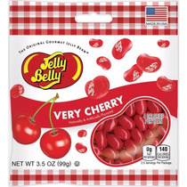 Jelly Belly Beans Cereza Very Cherry 99gr, Dulceria