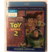 Blu Ray, Dvd Y Cd De Toy Story 2, Incluye 3 Discos