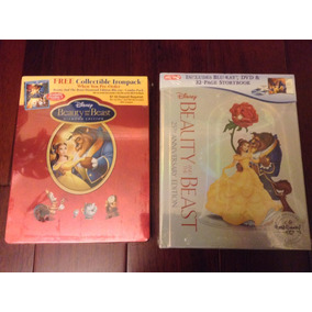 Disney La Bella Y La Bestia Steelbook Best Buy Y Blu Ray Nvo