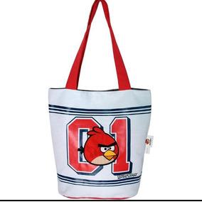Bolsa Nova Tote Angry Birds - Santino