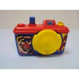 Brinquedo Camera / Maquina De Tirar Foto Girafas Azul