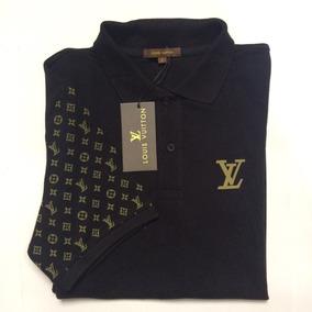 Camisa Polo Louis Vuitton Exclusiva Com Etiquetas