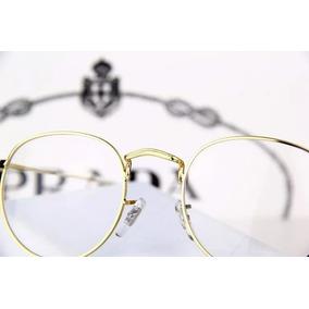 6f23d930d1fb8 Oculos Sem Aro Oval - Óculos Armações no Mercado Livre Brasil