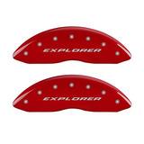 Mgp Cubiertas De La Pinza De Freno Para 2011 Ford Explorer,