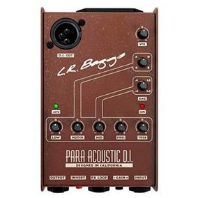 Pedal Lr Baggs Para Di Direct Box, Preamp, Eq - Acústico