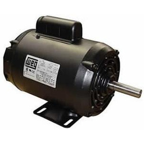 Motor Monofasico 2 Hp Baja Uso General 1 Capacitor Weg