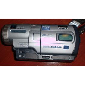 Filmadora Handy Cam Sony 500x Con Todo Accesorios