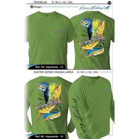 Camisas Para Pesca Playa Manga Larga Y Corta Varios Colores