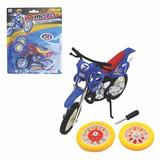 10un Moto Cross De Dedo Motorcycle Com Acessorios Colors