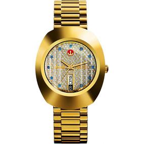 Reloj Rado R12413313 Lluvia De Estrellas Diastar Dorado