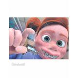 Painel Decorativo Disney/pixar Procurando Nemo Darla 50x30