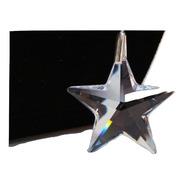 Pingente Estrela 2,8 Cm Cristal Swarovski Em Prata 925