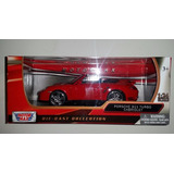 Porshe 911 Turbo Cabriolet Scala 1:24 Motormax