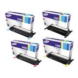 Pack 4 Toner Clp 310/315 Clx 3170/3175 K409 Y409 M409 C409