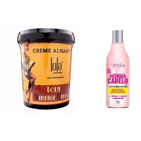 Lola Cosmetics Vintage 850g + Shampoo Desmaia Cabelo