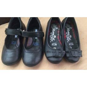 Zapato Infantil Talla 17.5 Mickey Y Coqueta 2pares