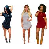2 Remerones Largo Calzas Mujer Algodon Long Fit Tipo Vestido