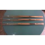 3 Pinças De 30cm De Aço Cirurgico Erwi Guth Go11
