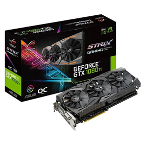 Asus Geforce Gtx 1080 Ti Strix Rog Tarjeta Vídeo Gding Gddr