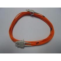 Patch Cord Sc-upc Sc-upc Duplex 2.0mm 5 Metros