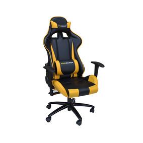 Cadeira Gamer Encosto Reclinável Altura Regulável - Pro