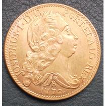 Moeda 6400 Reis 1772 (réplica Da Moeda De Ouro)