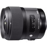 Lente Sigma 35mm F1.4 Dg Para Nikon