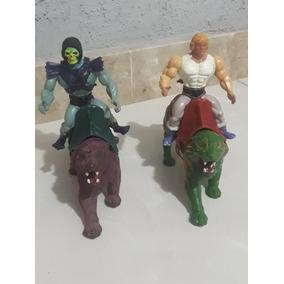 Brinquedo Anos 80 He-man E Esqueleto