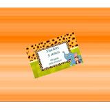 50 Tag De Agradecimento Personalizados Safari