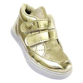 780993db5a1 Tenis Infantil Dourado Adidas - Calçados