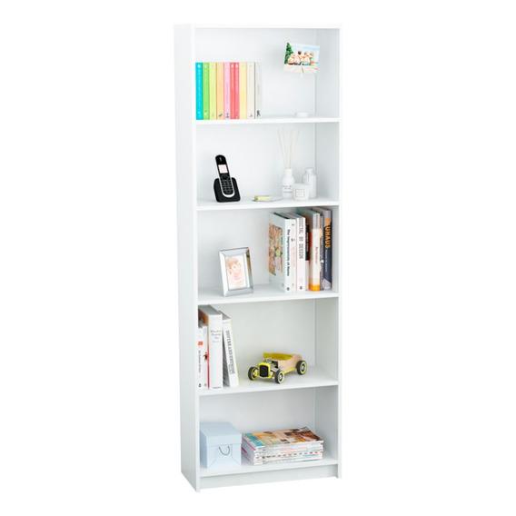 Excelente Mueble Modular Biblioteca 5 Estantes Organizador